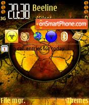 Скриншот темы Radioactive 02