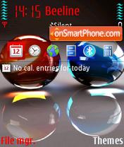 Marble stones tema screenshot