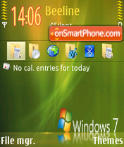 Windows7 rotate theme screenshot