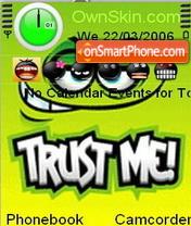 Trust Me theme screenshot