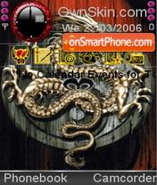 Скриншот темы Dragon