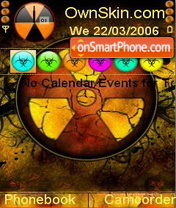 Radioactive theme screenshot