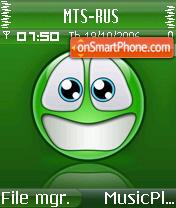 Smiley S es el tema de pantalla