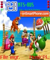 Island Party es el tema de pantalla