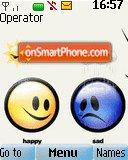 Smile And Sad tema screenshot