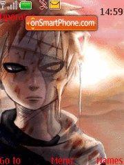 Gaara of the sands theme screenshot