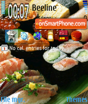 Sushi theme screenshot