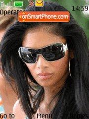 Nicole Scherzinger theme screenshot
