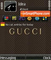 Gucci theme screenshot