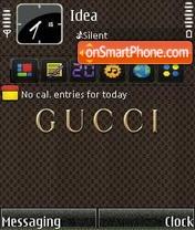 Скриншот темы Gucci