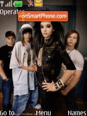 Capture d'écran Tokio Hotel thème