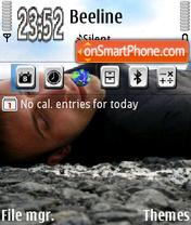 Скриншот темы On the way