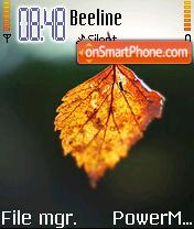 Dry Leaf theme screenshot