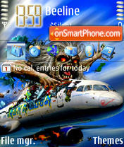 Flight 666 theme screenshot