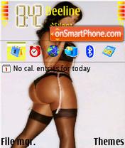 Big butt theme screenshot