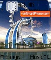Dubai Diamond Hotel es el tema de pantalla