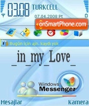 Windows Messenger5 theme screenshot