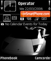 Murcielago theme screenshot