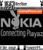 Playboy Edition theme screenshot