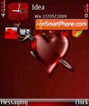 Broken Heart theme screenshot
