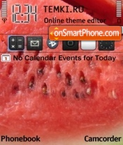 Watermelon theme screenshot