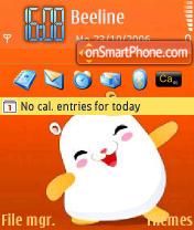 Cute theme screenshot