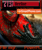 Spider Man 05 theme screenshot
