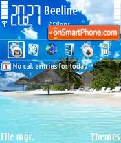 Capture d'écran Beach 31 thème