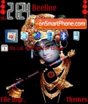 Скриншот темы Lord Krishna 01