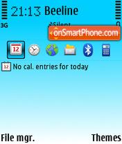Mint Ti theme screenshot