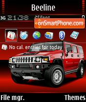 Hummer H2 02 theme screenshot