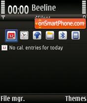 Скриншот темы Disparity FP2