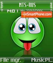 Smiley P es el tema de pantalla