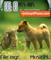 Cute Pets es el tema de pantalla