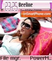 Kareena Pink es el tema de pantalla