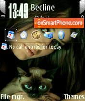 Скриншот темы Girlcat