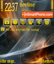 Silvergold 01 theme screenshot