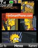 The Simpsons 08 theme screenshot