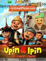 Скриншот темы Upin & Ipin
