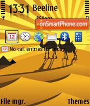 Camels 02 tema screenshot