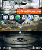 Demian Proekt theme screenshot