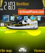 Скриншот темы Nike Air 01