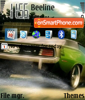 Hemi Cuda theme screenshot