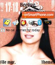 Oksana Fedorova theme screenshot