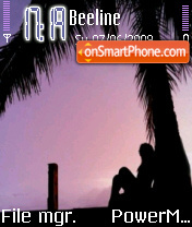 Lonely Girl 03 es el tema de pantalla