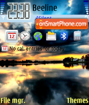 Ocean 01 tema screenshot