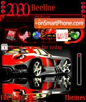 Скриншот темы Animatedcar22