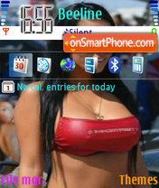 Newbrunette theme screenshot