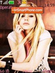 The best Damn Thing (Avril) theme screenshot