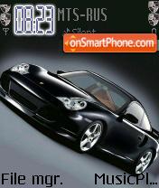Скриншот темы Porsche 911 Turbo